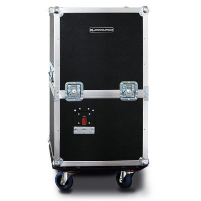 The Roadcase is the perfect partner for the SG-BOX to make it suitable for use on stage.