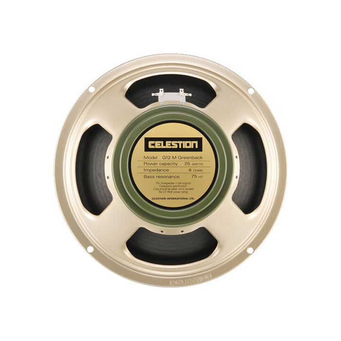 The Celestion G12M Greenback might be the best known guitar speaker ever.